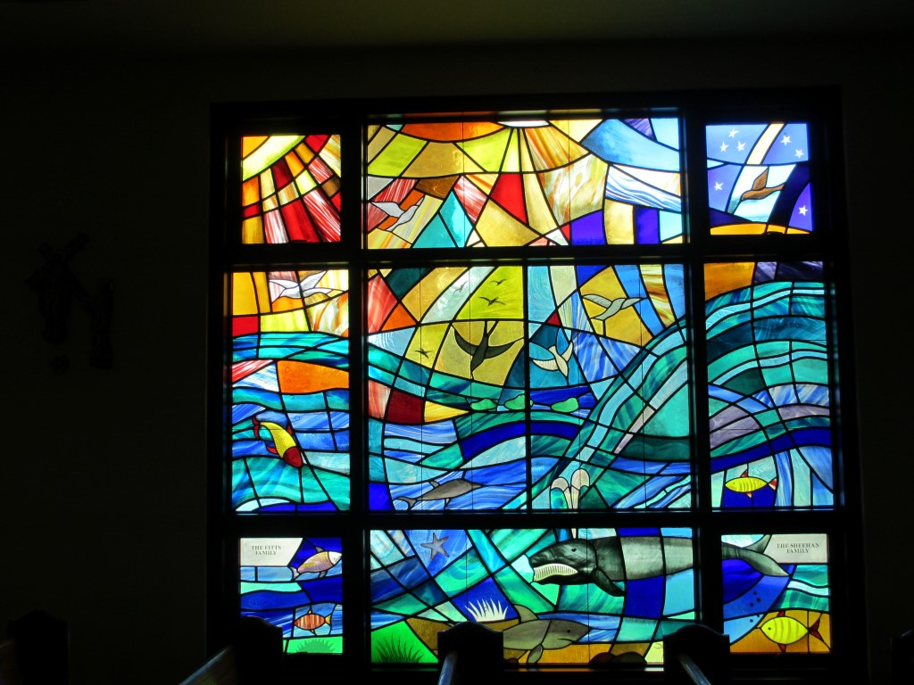 Churches contemporary casola stained glass studio for Contemporary stained glass